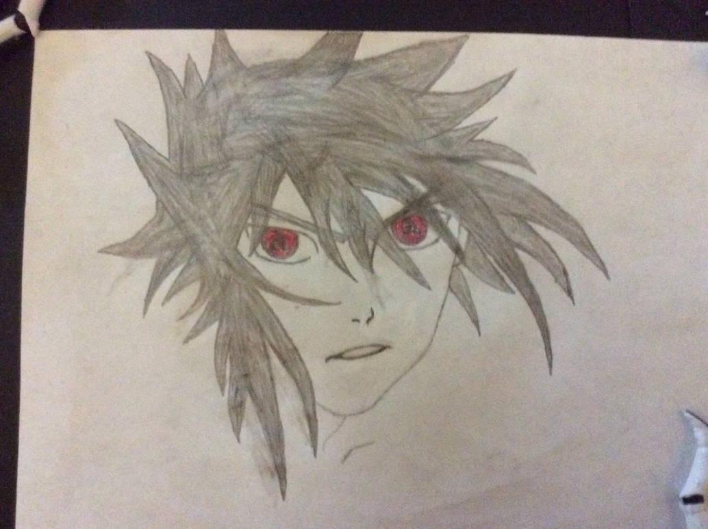 Sasuke Uchiha Sharingan Eyes By Makinoarts On Deviantart