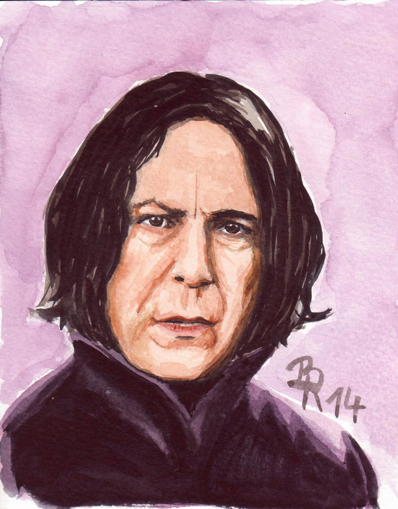 Professor Severus Snape by LoonaLucy