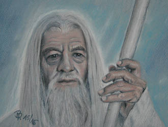 Gandalf the White by LoonaLucy