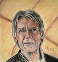 Han Solo - The force awakens by LoonaLucy