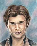 Han Solo by LoonaLucy