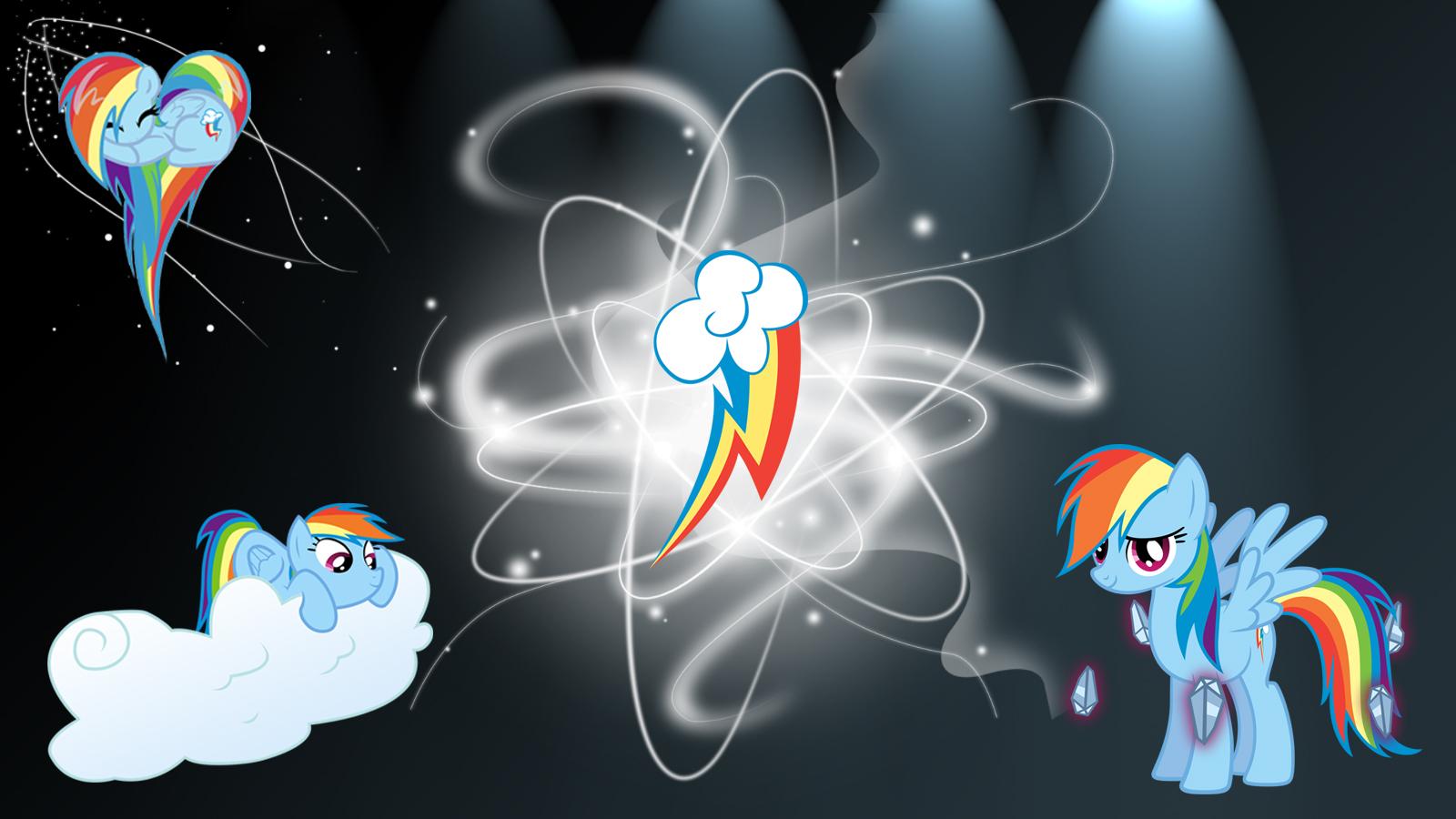 rainbow dash sphere background - photo #16