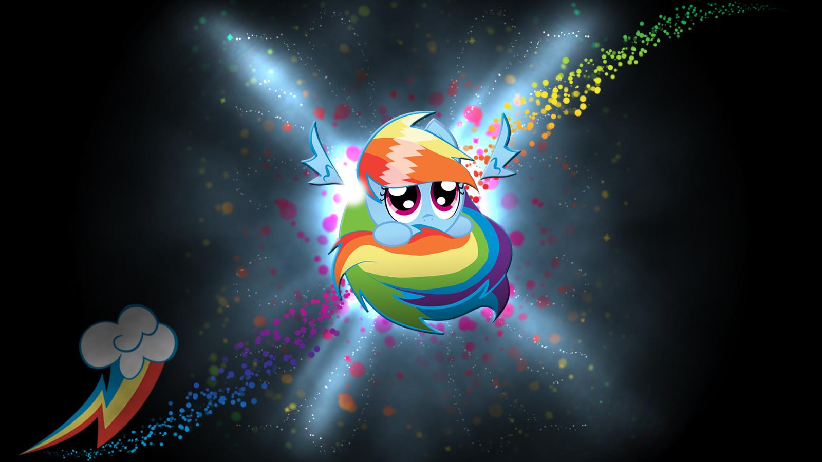 rainbow dash sphere background -#main