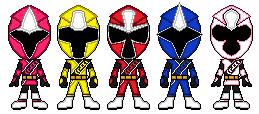 Shuriken Sentai Ninninger by johnnyjs