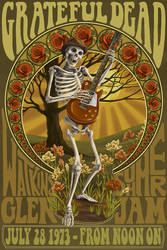 Grateful Dead Summer Jam by AlixBranwyn