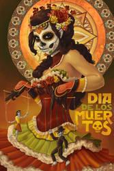 Dia de los Muertos by AlixBranwyn