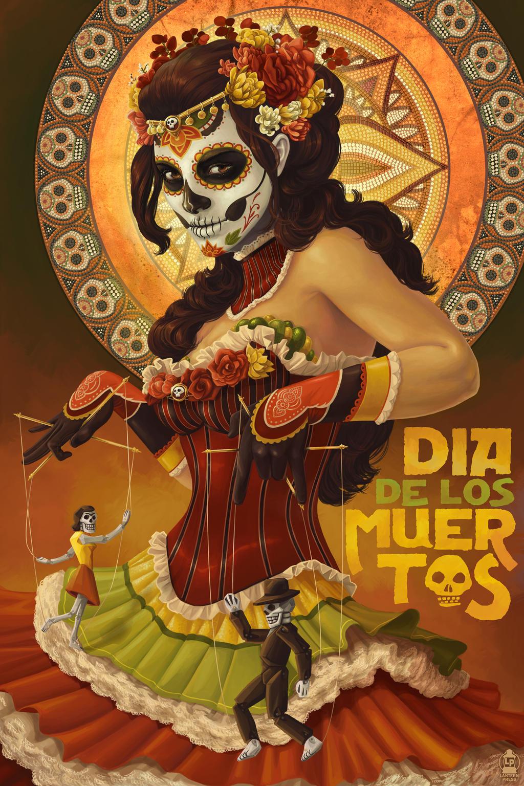 Dia de los Muertos by Chronoperates