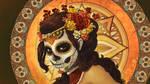 Dia de los Muertos - Wallpaper by AlixBranwyn