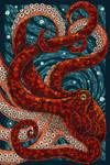 Paper Mosaic Octopus