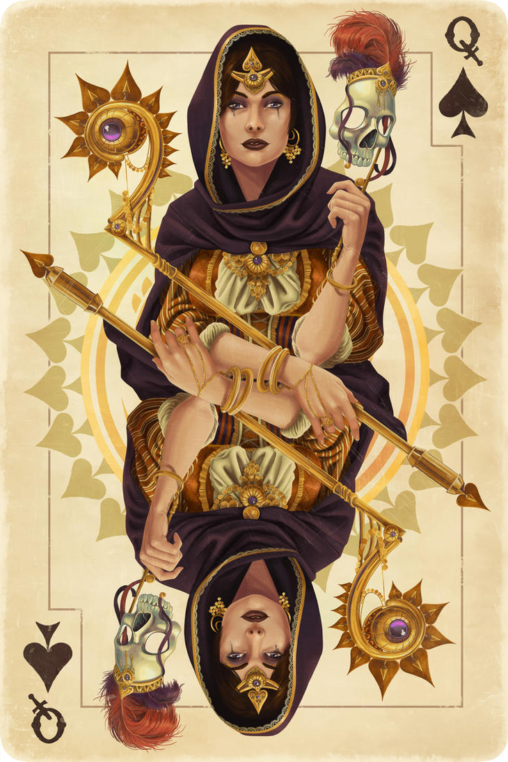 Queen of Spades by Chronoperates