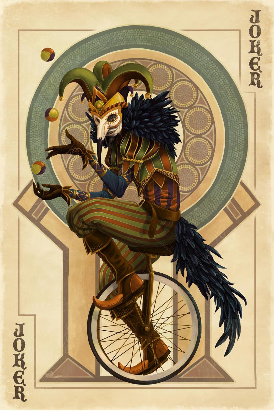 joker card art - photo #2