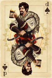 One Eyed Jack - Jack of Spades by AlixBranwyn