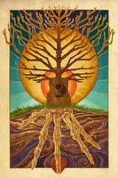 Guitar Tree by AlixBranwyn