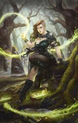 Lilith - Witch by AlixBranwyn