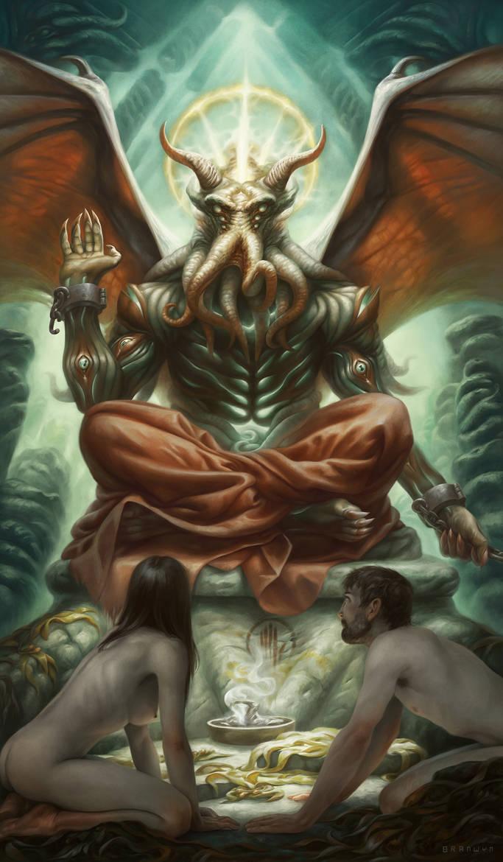 XV. The Devil by AlixBranwyn