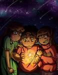 Star Children [+Speedpaint] by SafirasArt