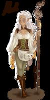 Aleah (More or less random character doodle)