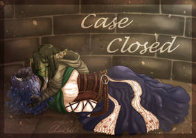 Case Closed -  Critical Role Fanart [Speedpaint] by SafirasArt