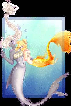 Mermay - Sharkgirl and Guppy