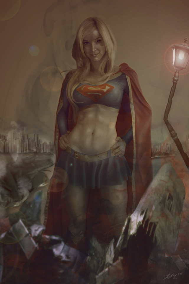 SuperGirl by dfields
