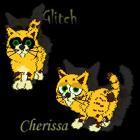 Cherissa and her not-so-evil-clone by PurryProductions-Inc