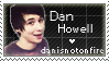 danisnotonfire Stamp by PurryProductions-Art