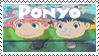 Ponyo loves sosuke stamp by AriannaPeyton