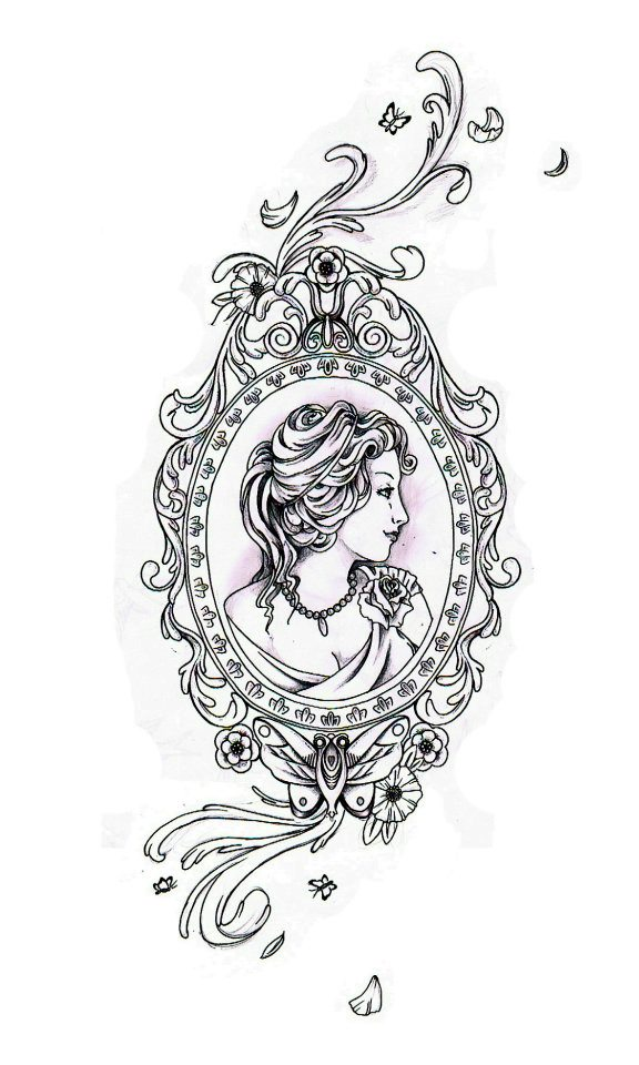 Frame Tattoo Designs For Elegance By Killaduckeh Old Fashioned Frame Tattoo Bigking Keywords And Pictures