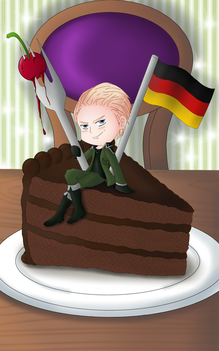 German Chocolate Cake by Assassin-Herzeleid