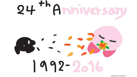 24th Anniversary Kirby!