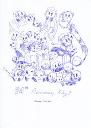 24th Anniversary Kirby! V.2