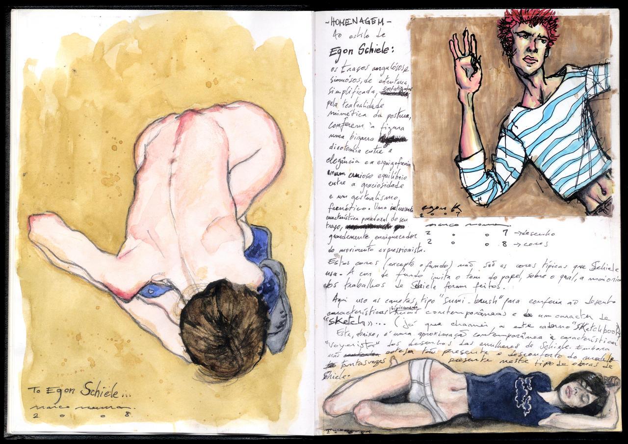 Homage to Egon Schiele by egon-k