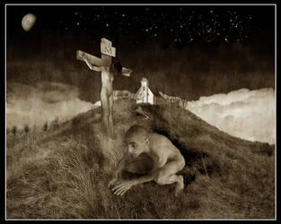 I Am No Feeble Christ by FluxusX