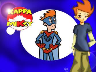 Kappa Mikey Wallpaper n_n by Floren-Ca