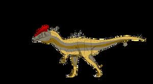 Dilophosaurus Acromerus by BrooksLeibee