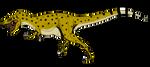 Albertosaurus sarcophagus by BrooksLeibee