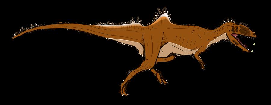 Concavenator corcovatus by BrooksLeibee