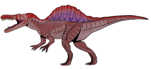Spinosaurus a. Concept remake by BrooksLeibee