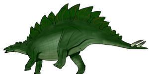 JP Stegosaurus stenops concept by BrooksLeibee