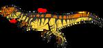 Metriacanthosaurus concept by BrooksLeibee