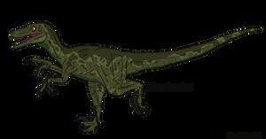 Jurassic Park Balaur bondoc by BrooksLeibee
