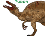 Old Sketch Made New: Turok Styled Spinosaurus