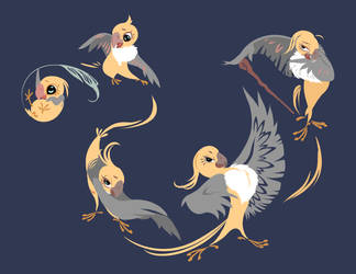 Yona the Bird by WhiteFinch