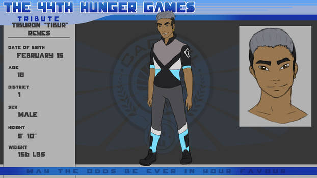 44th Hunger Games Application - Tibur Reyes