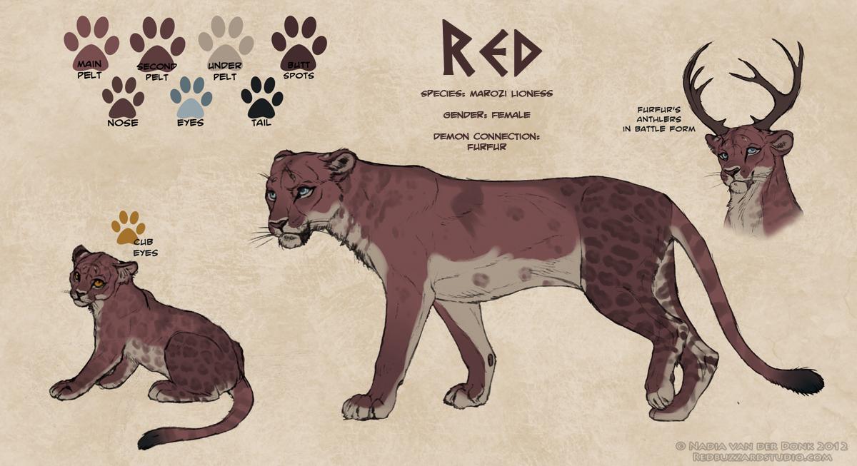 Red V3 by NadiavanderDonk