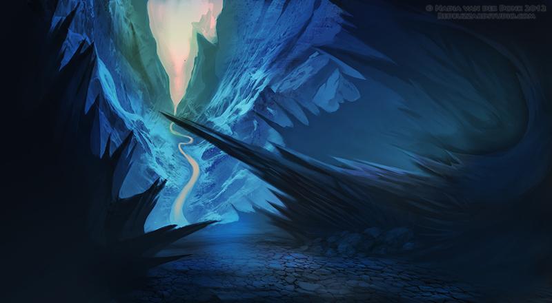 Blue World by NadiavanderDonk