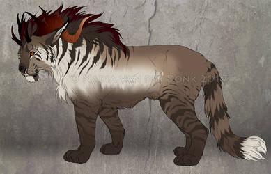 Fantasy Big Cat - Sold