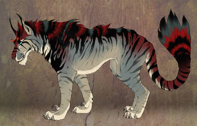 Indominus Cat - Character Sale - SOLD!