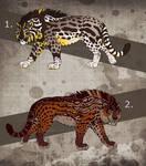 Fantasy Saber Cats - CLOSED!