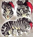 Pirate Tiger - Character Design AUCTION (CLOSED)